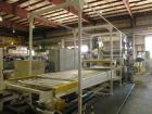 Used- HPM Sheet Take Off System consisting of: (1) HPM Sheetmaster III 3 roll sheet stack, rated speed range 20 feet per min...