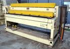 """Used- PTI Model J842440 Chrome Roll Sheet Take-Off. J-Stack design. 84"""" Wide, (3) chrome rolls, lower roll 24"""" diameter, cen..."""