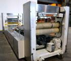 Used- Welex 41'' Wide Sheet Extrusion Downstream Consisting Of: (1) Welex 3 Roll sheet stack. (3) 41'' wide x 12'' diameter ...