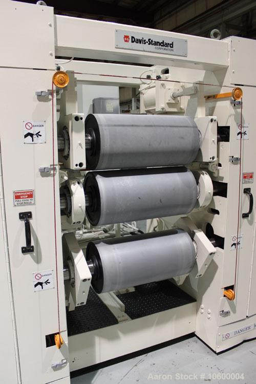 "Used-Plastic Sheet Extrusion Line consisting of:  Used Welex 3-1/2"" single screw extruder, model 35VA. Approximate 30:1 L/D ..."