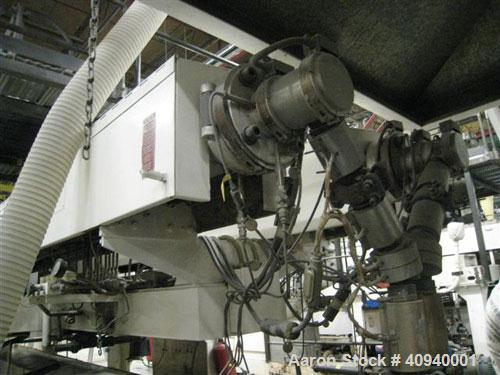 """Used-Welex Co-Extrusion Sheet Line consisting of the following:  (1) Welex 4.5"""" screw diameter, 36:1 L/D ratio. Electrically..."""