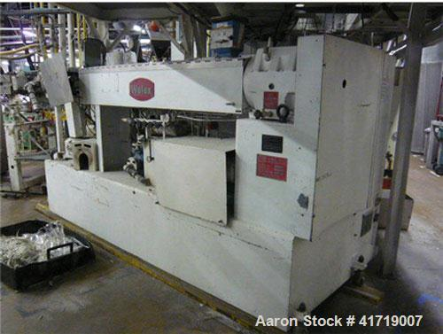 "Used-PET Sheet Line for Packaging Film.  Maximum capacity 836 lbs/hour (380 kg/hr), used for foil thickness 0.0118"" - 0.0472..."