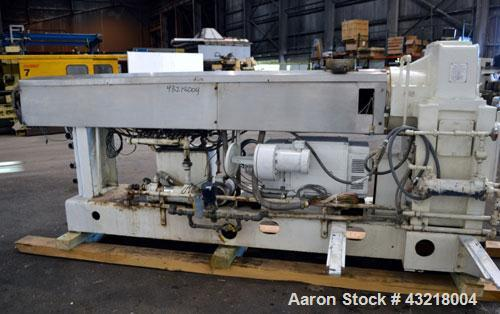 Used- Welex 41'' Wide Sheet Extrusion Line Consisting Of: (1) Welex 3-1/2'' single screw extruder, approximate 30 to 1 L/R r...