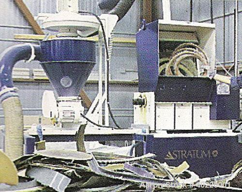 """Unused-Used: USED SHRED-TECH PLASTICS SHREDDER, MODEL ST-20, TWIN ROTOR WITH 22 SINGLE HOOK 1-3/16"""" WIDE KNIVES-14""""X28"""" CUTT..."""