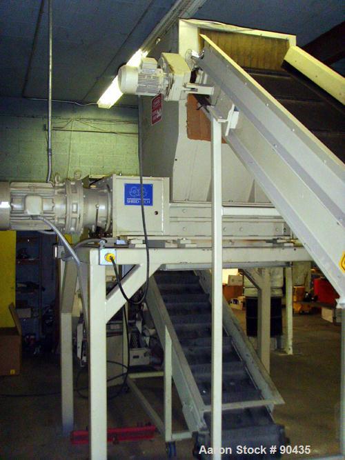 USED: Shredder/grinding system