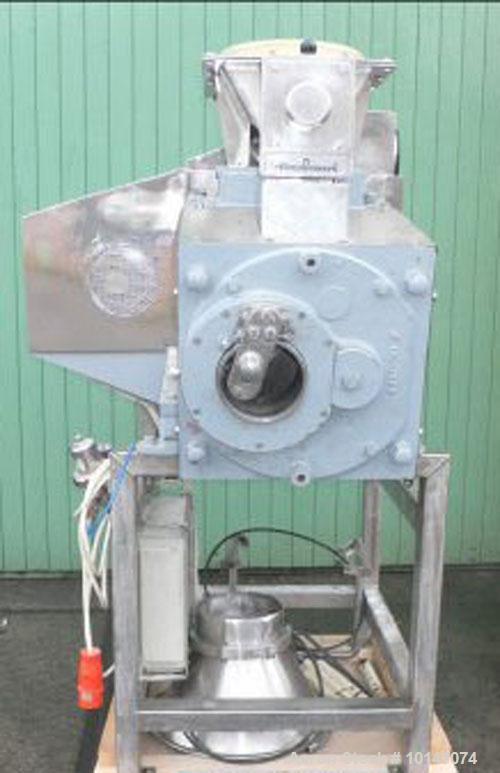 """Used-Stainless Steel Alexanderwerk G1/168 Rotor Granulator, """"Moist Granulator"""""""