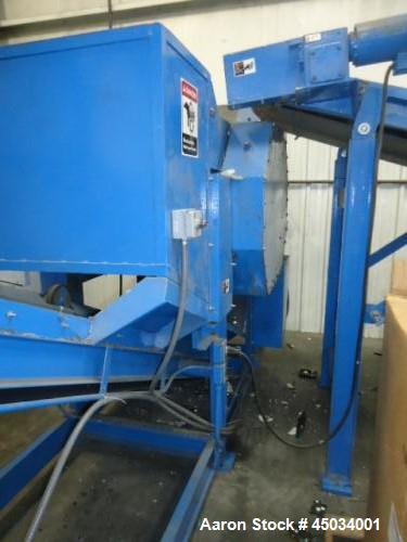 Used-BCA Industries 3434 Dual Shaft Shredder
