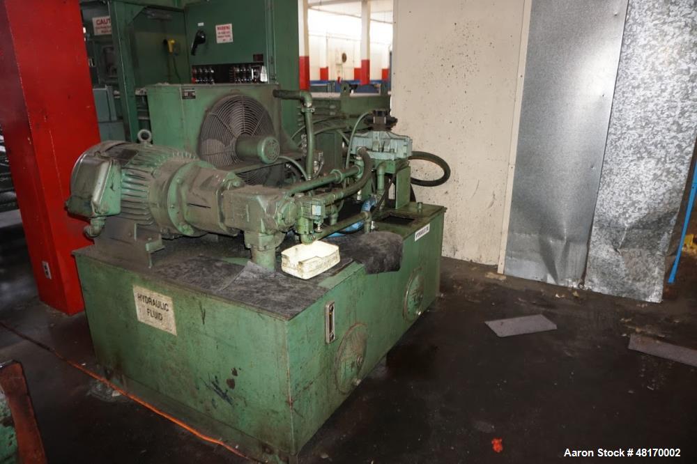 """Used- Bloapco 58"""" Baler with Selco Shredder Combo Set. Baler, Model: 3 CAXS-3058BVA, 30 hp. Shredder, Model: HSO-128-A, 28"""" ..."""