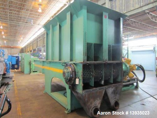 Used- Granutec Model M160 Single Rotor Shredder
