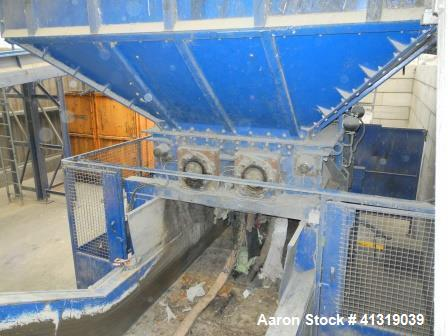 "Used- Husmann Universal Shredder HL II 1622. Feed opening 63"" x 87"" (1600mm x 2200 mm), Hopper 118"" x 157"" (3000mm x 4000 mm..."