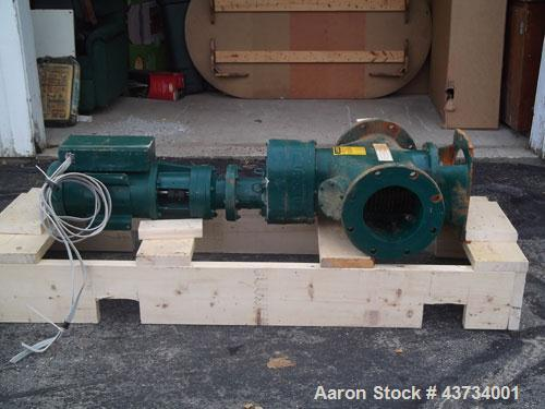 "Used-JWC International Muffin Monster Grinder, Model 30004T-1208. Flow rate 800 gallons per minute, 8"" pipeline size, 1.60 p..."