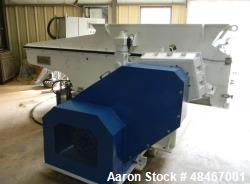 Used- Retech Shredder/Grinder, Model 52/100. 40 mm rotating cutters with 4 points. Changeable counter knife. 100 hp motor wi...