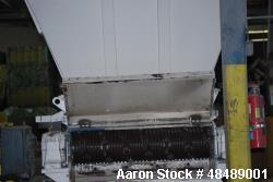 "Used- Re-Tech Plastic Shredder, Model: RG-52. 100 hp, single shaft, new cutters, new 3"" screen"