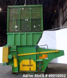 Used- Vecoplan Shredder, Model RG70/200XLFSP.