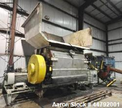 Used- Vecoplan Single Rotor Shredder, Model VAZ/145/250