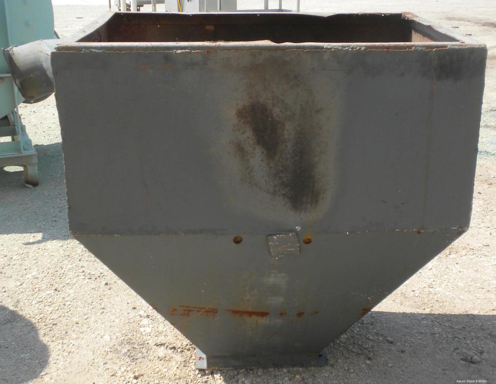 Used- Carbon Steel Mitts & Merrill Twin Shaft Shredder, Model 1417