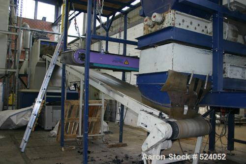 USED: Moco 2 shaft shredder, type AZ11 and AZ11. Cutting section 510 mm x 500 mm and 700 x 500 mm. Driven by 7.5 kW/10 hp mo...