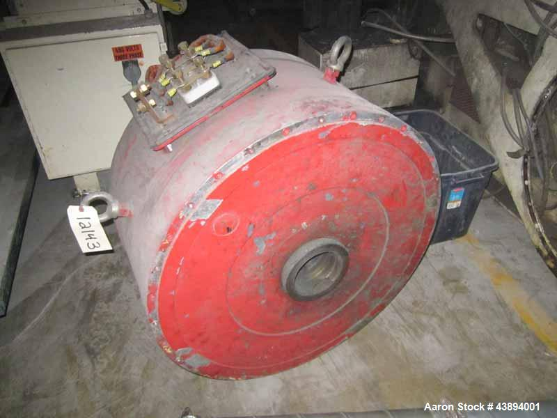 Used- Retech RG-62 Single Shaft Shredder