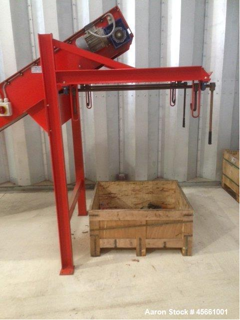 "Used- Satrind F615 Shredder, driven by a 14.6 hp (11 kW) motor, 415V/3PH/50Hz. 1.2"" (30 mm) blade. Cutting chamber size 22.8..."