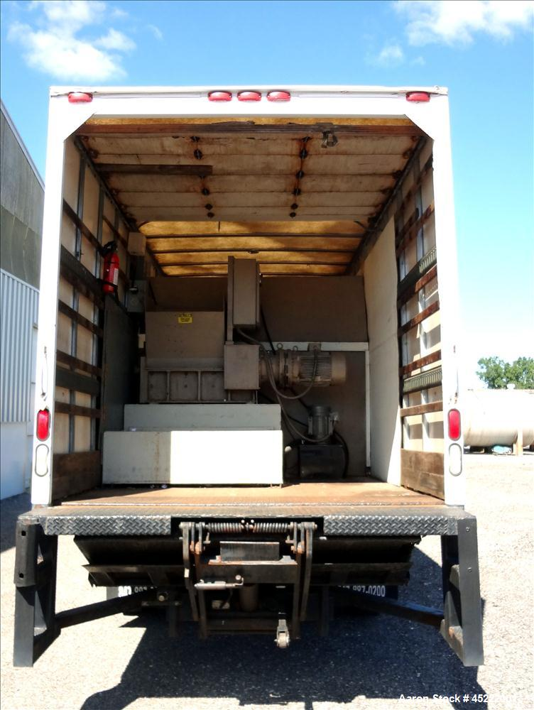 Used- Mobile Paper Shredding Truck Consisting
