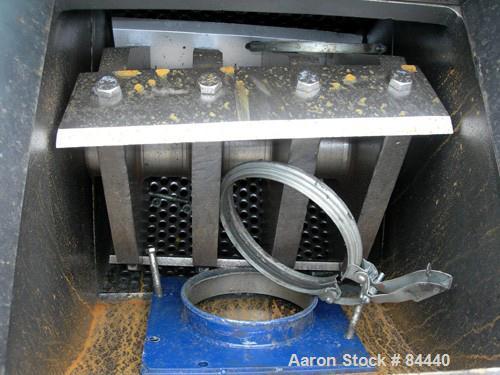 USED: Shred Tech Shredding/Grinding System consisting of (1) model ST-20 dual shaft shredder, serial #40-1291, approximate 1...