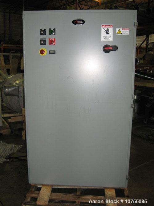 Used-Shred Tech Model ST75E Dual Shaft Shredder, Manufactured 2004, Dual Sumitomo, 40 HP, 208-230/460 Volt, 1170 rpm motors ...