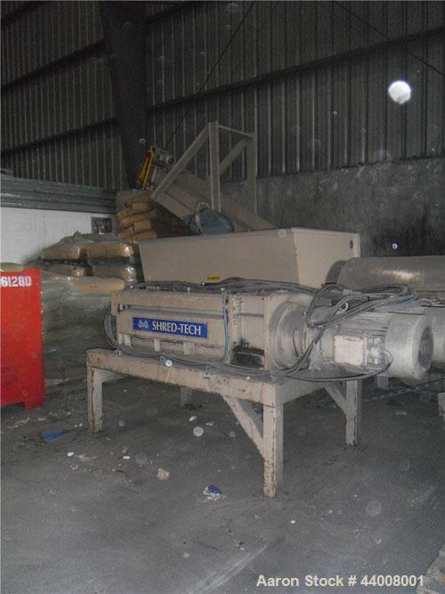 Used-Shred Tech Shredder, Model STQ50