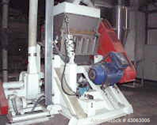Used-Sorema MU 812 Cutting Mill
