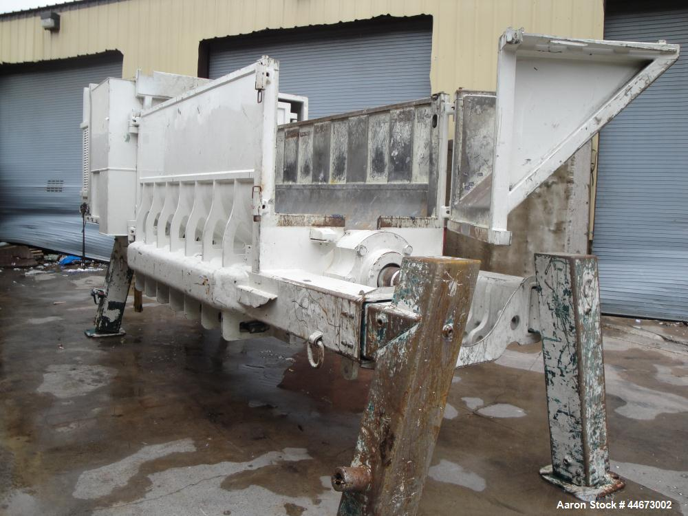 Used- SSI Single Shaft Shredder, Model PR-590, powered by Shred Max Model 565SD.  Dimensions:  9' long x 4.67' wide x 4.17' ...
