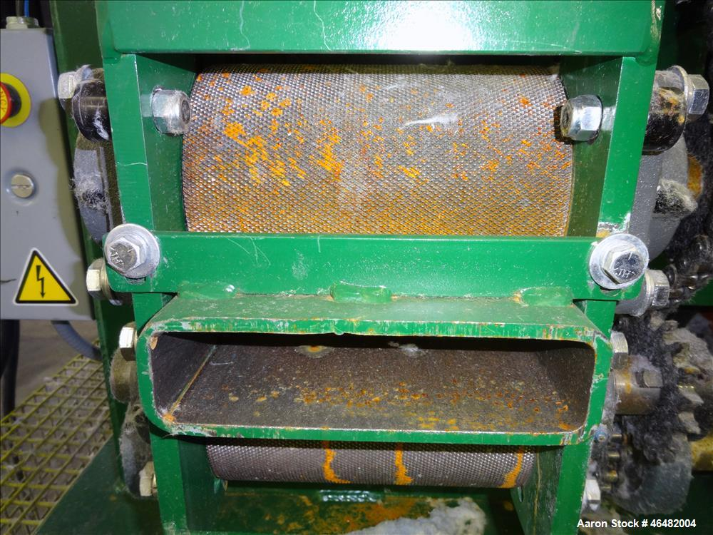 Used- Sweed Scrap Chopper, Model 517AF, Carbon Steel.