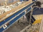 Used- Allegheny Paper Shredder, Model 16-150C. 7 1/2 hp, capacity 140-150. Input speed 49'/15 meters per min. 16