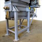 Used- Dual Rotor Shredder, Carbon Steel. Approximate chamber 60
