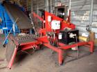Used- Desco Tire Cutter, Model 2500. Shear tire cutter, 5 HP, 480V, 3 phase motor. Ideal for cutting truck and passenger tir...