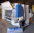 Used- Vecoplan/ ReTech Single-Shaft Rotary Grinder, Model RG52/75, carbon steel. Approximately 15