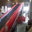 Used-Weima WLK 1000 Shredder for hard plastics.  Infeed dimensions 39