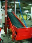 Used-Weima WLK 6-S-30 Single Shaft Shredder, 42 knives, 39 cubic feet (1.1 m3) feed hopper, feed opening 31.5