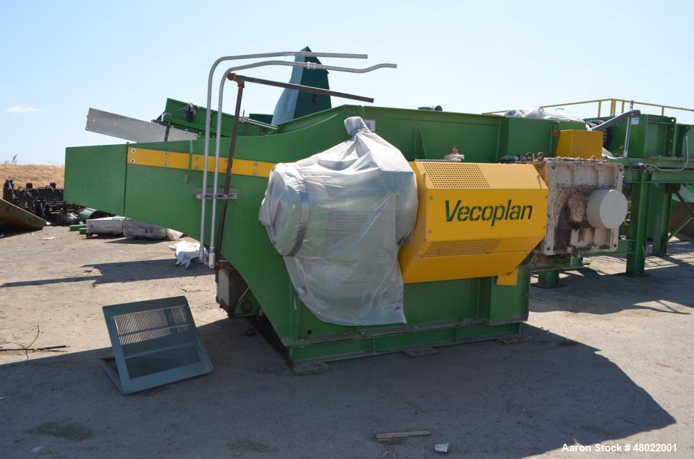 Used- Vecoplan & SSI Shredding System