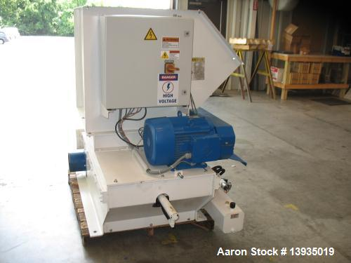 Used- Vecoplan Single Rotor Shredder, Model RG32/20 Z Short