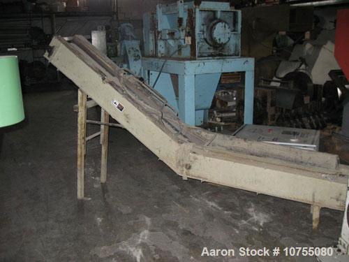 "Used-Vecoplan Model RG42/30WP Shredder. 30 Hp, 460 volt drive motor into gearbox, belt drive, 10"" diameter 42"" wide rotor wi..."