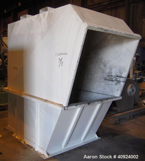 """Used- Vecoplan/ ReTech Single-Shaft Rotary Grinder, Model RG52/75, carbon steel. Approximately 15"""" diameter x 51"""" wide rotor..."""
