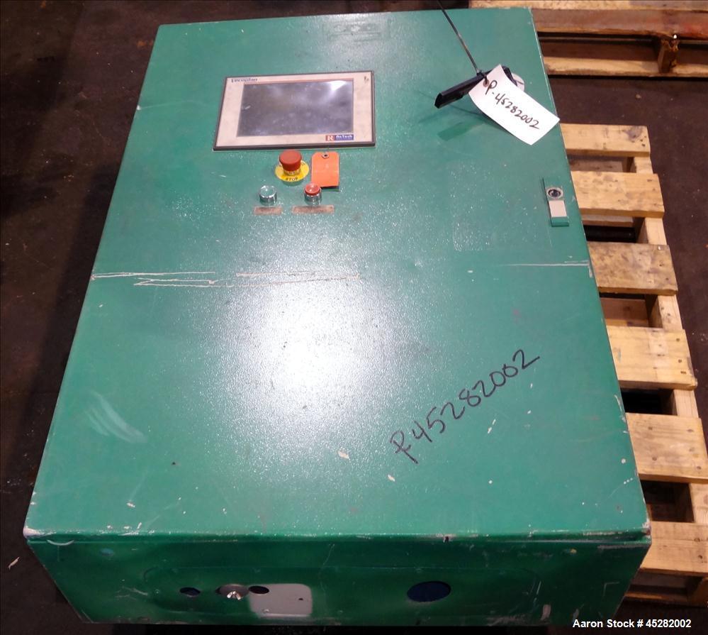 Used- Carbon Steel Vecoplan Single-Shaft Rotary Grinder, Model RG62/150 SPKFF