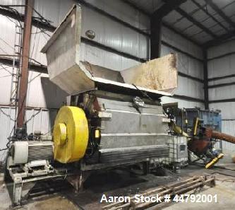 Used- Vecoplan Single Rotor Shredder, Model VAZ/145/250