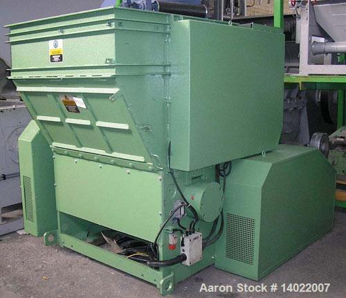 Used- Warema Shredder, Model EWZ 75