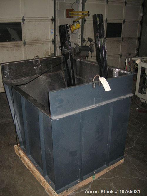 "Used-Weima Model ECO2V Shredder.  30 Hp 460 volt motor, 10"" diameter rotor with (27) 40 mm indexable crown cutters with a 12..."