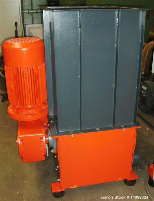 "Used-Weima WL3 Single Shaft Shredder.  Feed opening 31.4"" x 23.6"" (800 x 600 mm).  (24) Rotor knives.  (1) Stator knife.  Ro..."