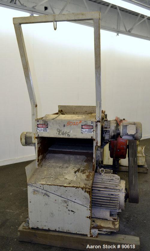 Used- Carbon Steel Weima Shredder, Model WLH600S/30