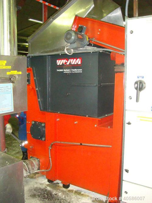 "Used-Weima WLK 6-S-30 Single Shaft Shredder, 42 knives, 39 cubic feet (1.1 m3) feed hopper, feed opening 31.5"" x 47.2"" (800 ..."