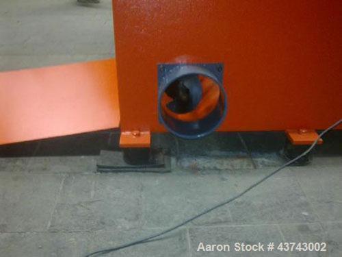 "Used-Weima WLK 6 S Single Roll Shredder.  Rotor diameter 14.5"" (368 mm), rotor length 31.5"" (800 mm), 21 knives, rotor speed..."
