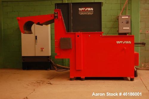 Used- Weima Shredder, Model WLK 6S/55. 440 volt / 60 HZ. Feed opening 800 x 1200 mm, 368 MM diameter rotor, 85 RPM. Reversib...