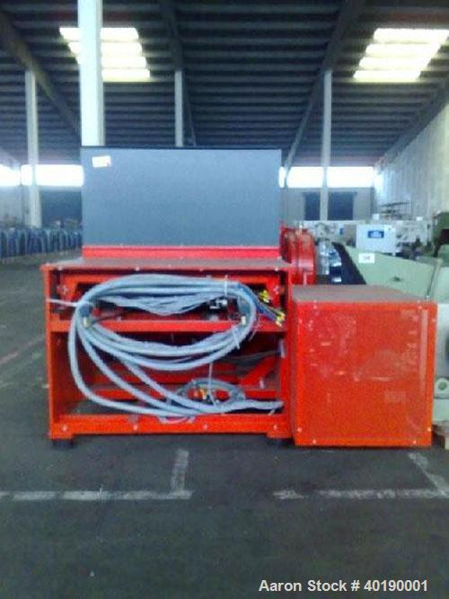 Unused-Used: Weima Shredder, WLK 15/90. Rotor 368 mm diameter, max 85 rpm, driven by a 90 kW/125 hp. Feed opening 1500 x 150...